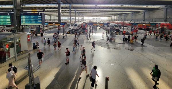 Munich central station