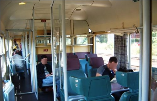 Older IC interior