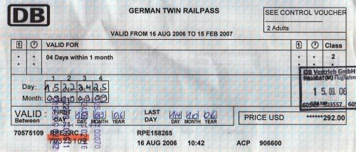 GermanRail TwinPass